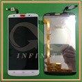 En Stock Blanco Color 100% Probado NUEVO Original Para Philips I928 Pantalla LCD Pantalla + Touch Asamblea de Cristal Del Panel Con Número de seguimiento