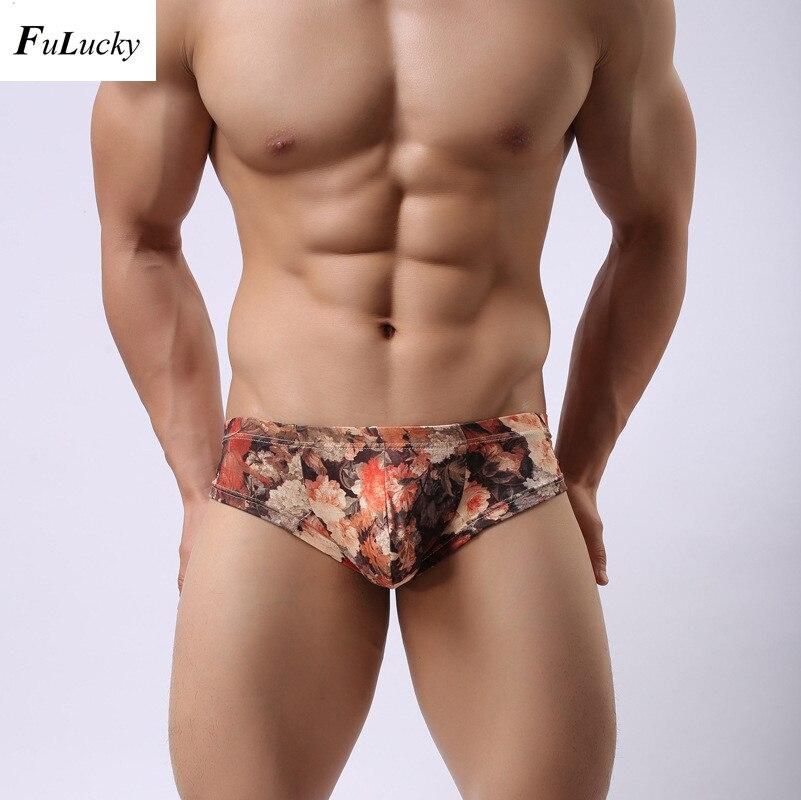 Free shipping brand pouch design ice silk underwear briefs transparent for men sexy