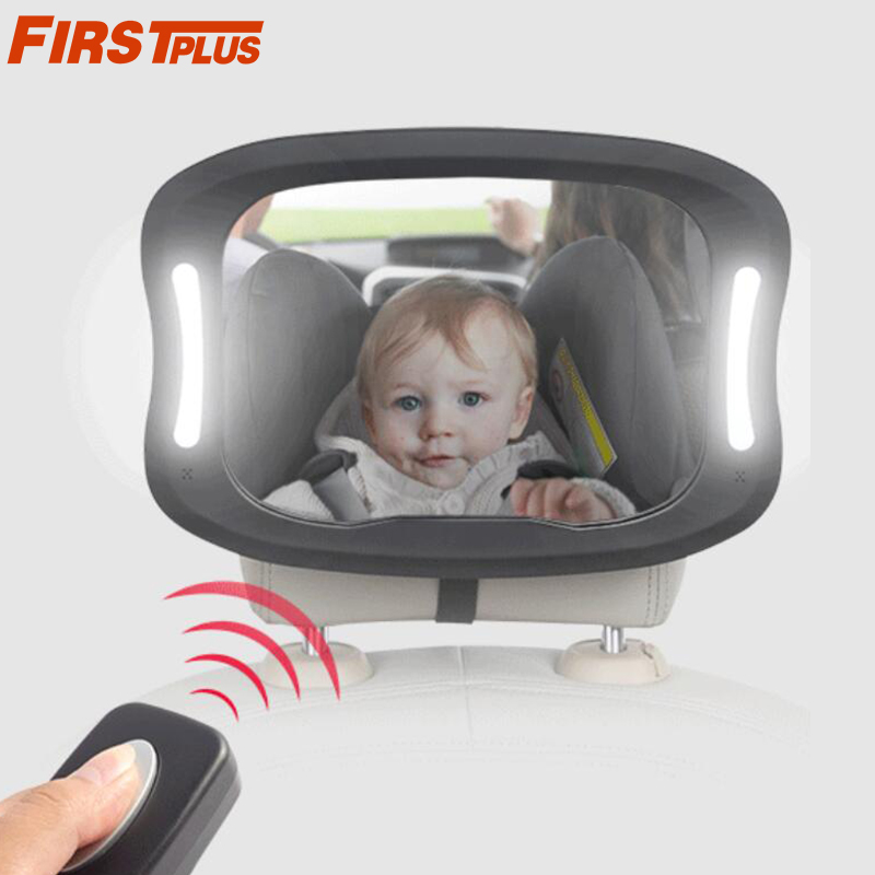 Baby Car Seat Rear View Mirror Face Back Infant Kid Child Toddler Ward Safety Lp