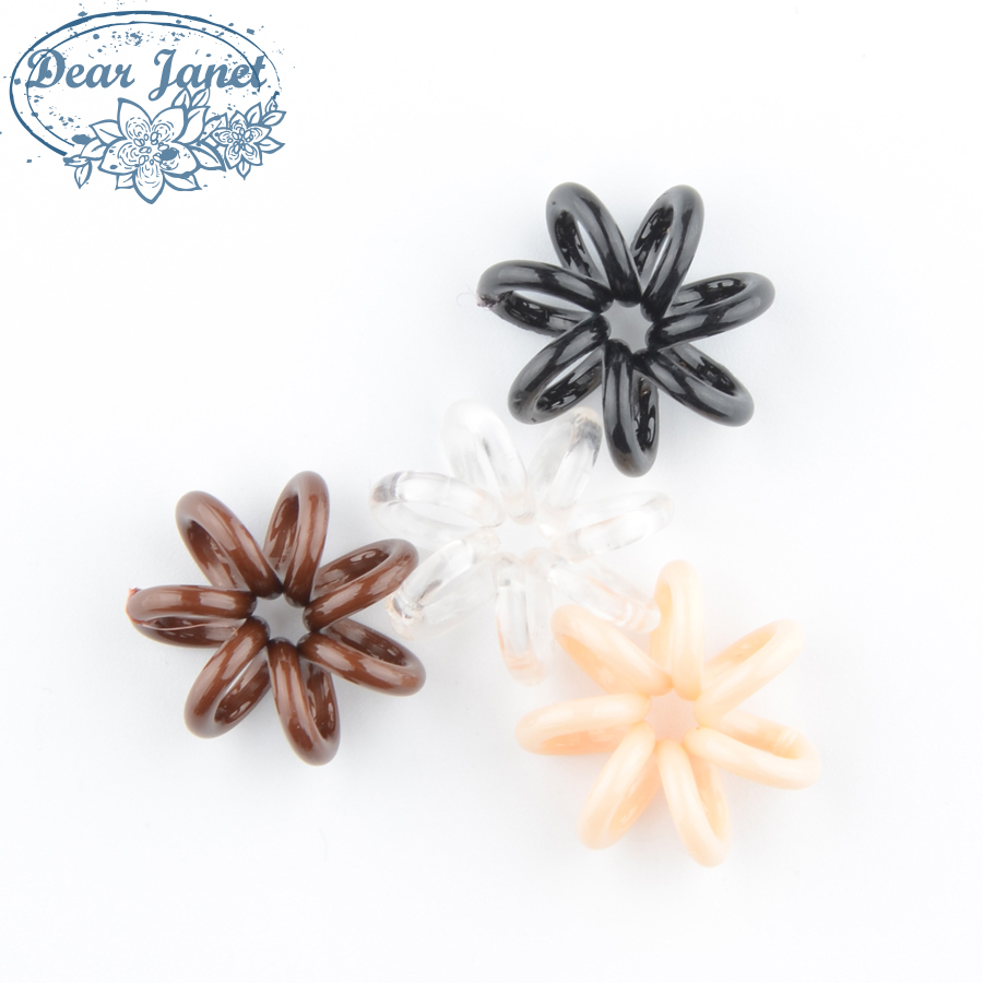 20pcs/pack 2cm Fashion Cute Candy Color Telephone Line Hair Gum Styling Tools Headwear Styling Accessories