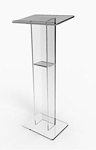 Free ShippingFixture Displays Acrylic Podium Plexiglass Pulpit School Church Lectern Church Logo Customize