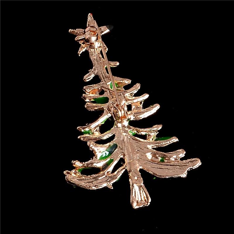 SHUANGR Fashion Christmas Tree Brooch Pin Cute Jewelry Christmas ...
