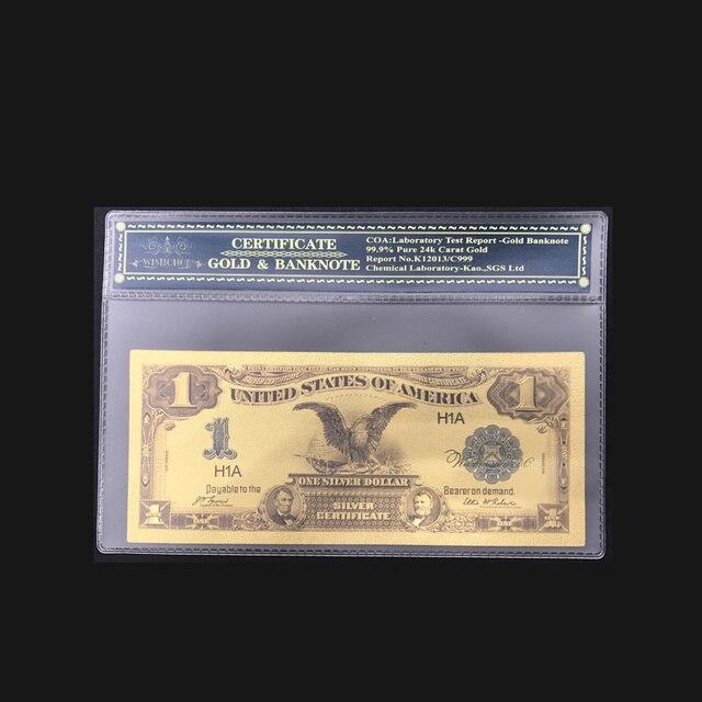 Wishonor Heißer Verkauf American Gold Banknote 1899 Jahr Einen ...