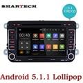 2 Din Android 5.1 Автомобильный DVD Радио Блок GPS Навигация Для VW GOLF Polo Bora Jetta Passat Tiguan Skoda Octavia Fabia RCD 310 RK3188