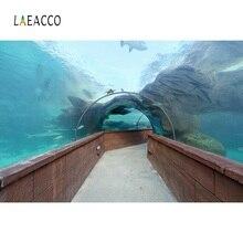 Photographic Backgrounds Fish Aquarium Underwater Corridor Baby Child Portrait Photography Backdrops Photocall Photo Studio