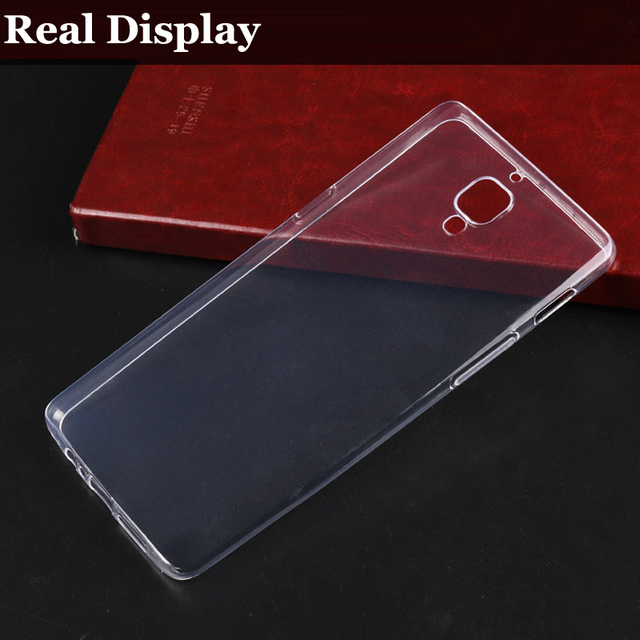 quality design 73a7d a138d US $1.99 |Oneplus 3T TPU Case Oneplus 3 Soft Flexible Ultra Slim Crystal  Clear Silicone Phone Back Cover for One Plus 3 Shell Fundas-in Half-wrapped  ...