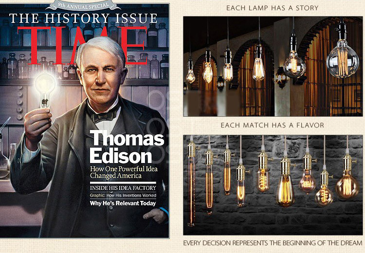 Thomas Edison Ampoule Best Christmas Tree Light Bulb E Edison Light