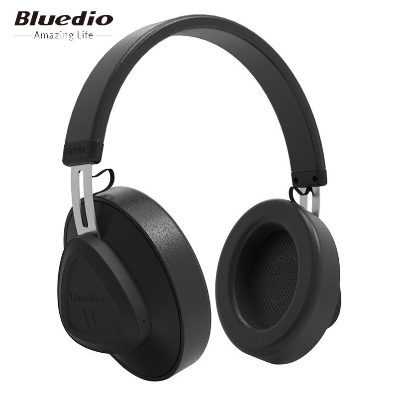 Bluedio TM wireless bluetooth headphone with microphone monitor studio headset for music and phones support voice control-in Bluetooth Earphones & Headphones from Consumer Electronics on AliExpress