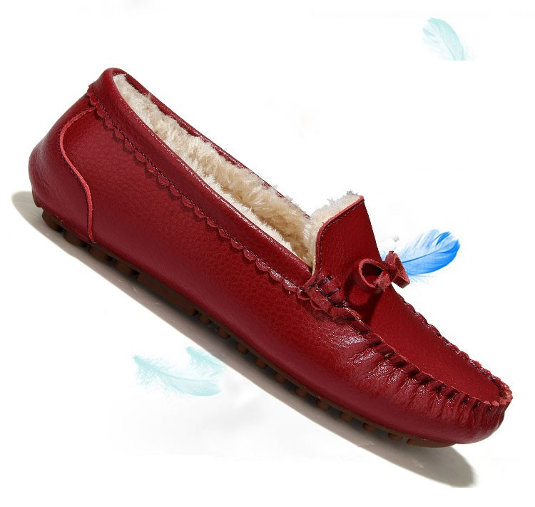 AH 5710  (3) women winter loafers