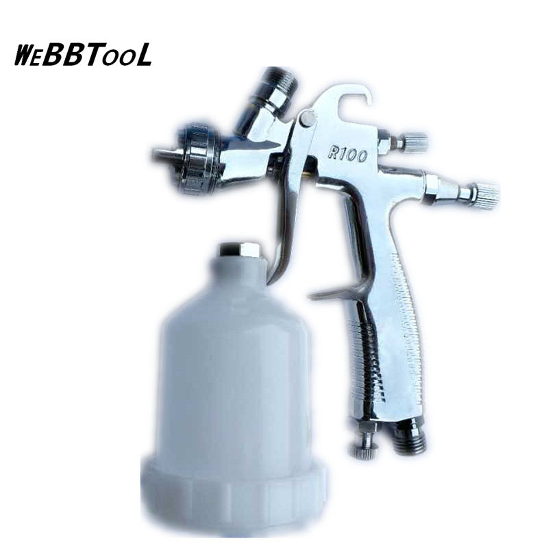 Roeng R-100 auto furniture sheet metal leather repair spray gun 1.0 caliber R100 paint spray gun