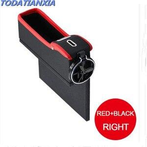 Coche Almacenamiento de hendidura de asiento caja organizador accesorios para Dacia duster logan sandero stepway lodgy mcv 2 Renault Megane Modus