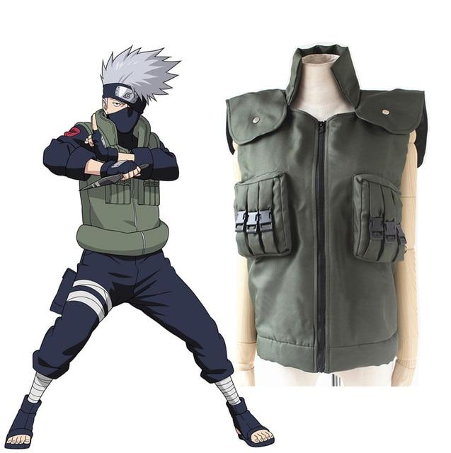 Naruto Shippuden Hatake Kakashi Ninja Vest Cosplay Costume