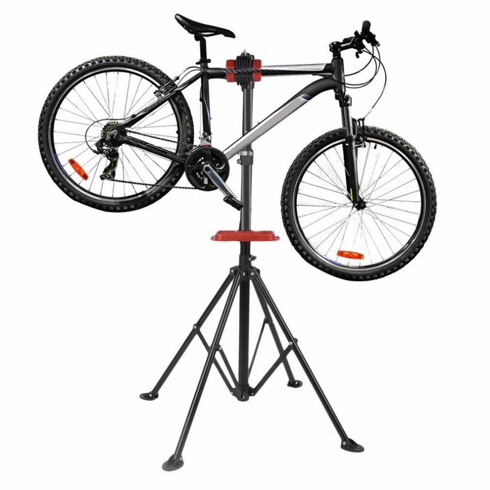 Aluminum bike repair stand kickstand mountain bicycle wings rack bike repair tools Bicycle accessories parking hanger New mountain bike four perlin disc hubs 32 holes high quality lightweight flexible rotation bicycle hubs bzh002