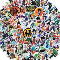 100 Pcs/lot Anime Dragon Ball Aufkleber Super Saiyan Goku Aufkleber Aufkleber Für Snowboard Gepäck Auto Kühlschrank Laptop Aufkleber