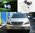 Para LEXUS RX300 RX330 RX350 RX400h 2004 2005 2006 2007 2008 Excelente Ultrabright angel eyes CCFL Angel Eyes kit de iluminación