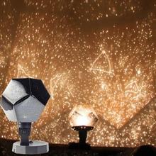 Projektor gwiazd projekcja nieba kosmos noc projektor świateł lampka nocna gwiazda romantyczna dekoracja sypialni oświetlenie bateria AA