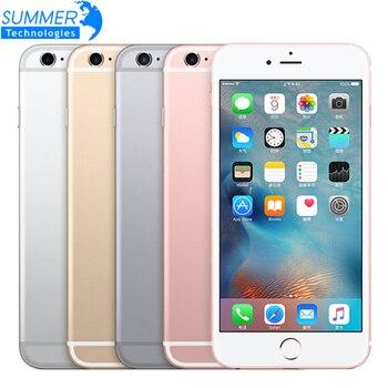 Débloqué Original iPhone 6 S/6 s plus Smartphone IOS double noyau 12.0MP caméra 2GM RAM 16/64/128GB ROM 4G LTE utilisé téléphone portable
