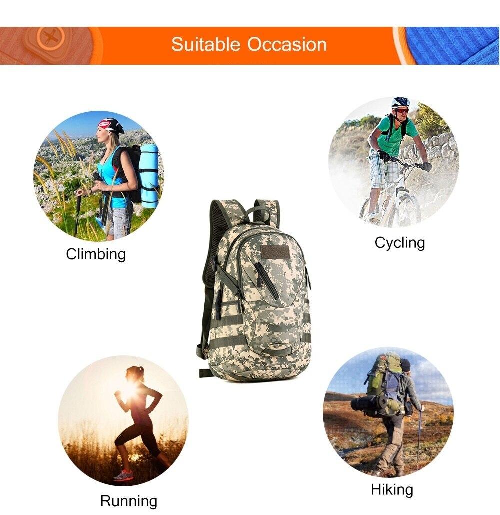 ar livre viajar ciclismo tático saco do