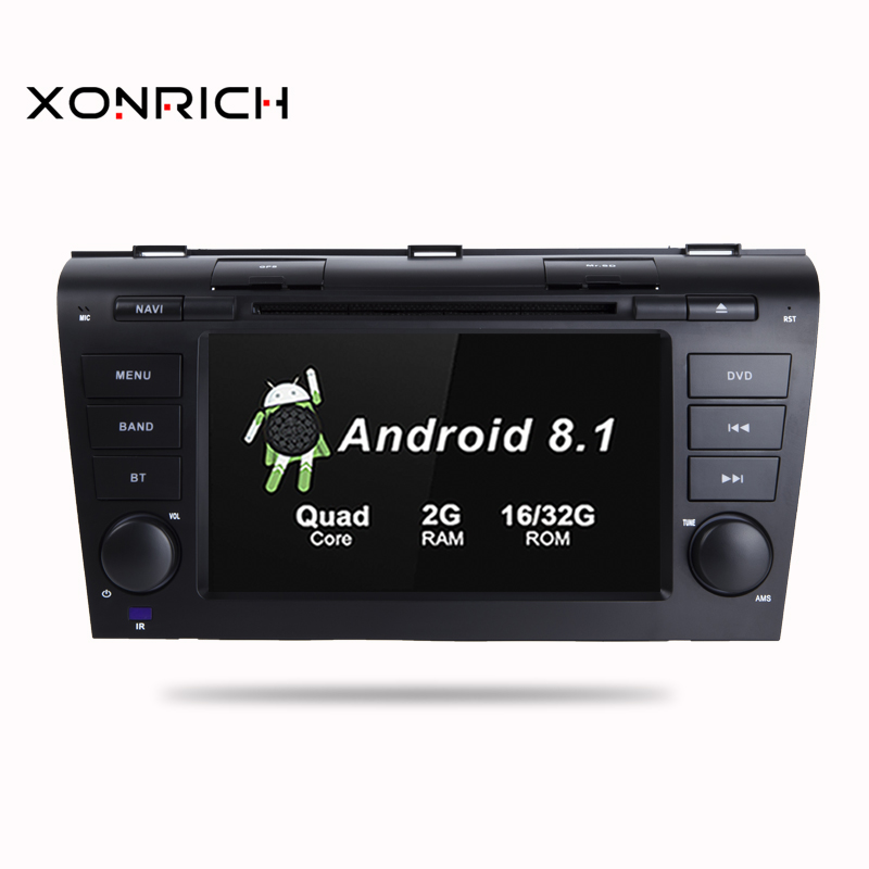 Quad Core 2GB RAM Android 8 1 Car DVD GPS Navigation Multimedia Player Car Stereo for