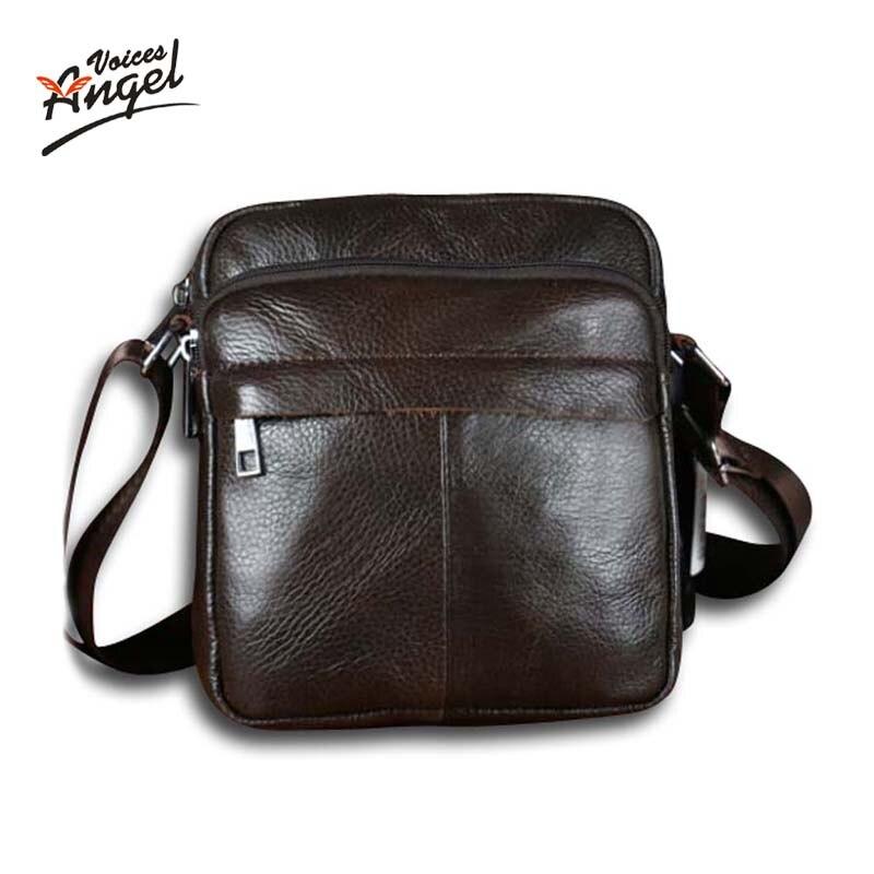48ab621b24d Hot sale New fashion genuine leather men bags small shoulder bag men  messenger