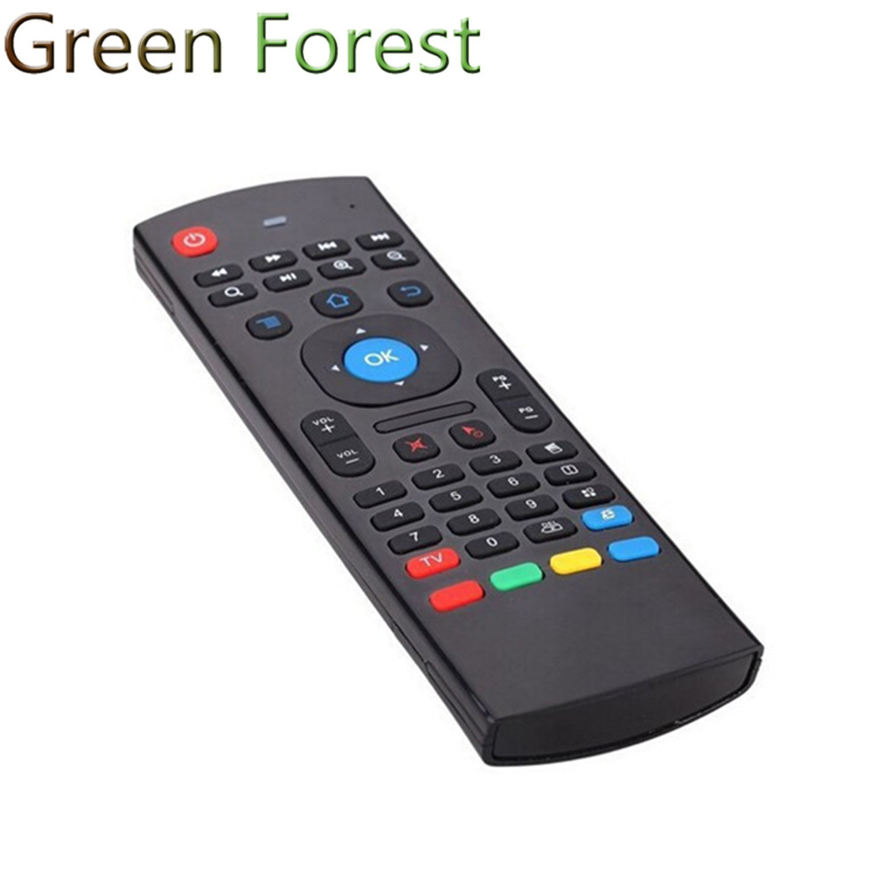 Learning-No-Voice-Micphone GYRO Air-Mouse Remote Android-Tv Wireless-Keyboard for 3-In1