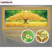 Diamond Embroidery 5D Diy Round Diamond Painting Money Tree Cross Stitch Kits Special Shaped Home Decoration