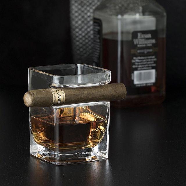 Kieliszki Szklanki Whisky Wino Z Holder Groove Cogar Stojak Kitchen