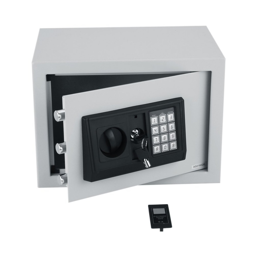 Home Digital Safe Box Security Secret Box Electronic Password Safe For Jewellery Money Box Cash Coins Saving Box Christmas Gifts quality cash drawer cash box support 5 bills 8 coins for supermarket cashier box can adjust coins box rj11 port