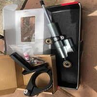 CNC Aluminium Einstellbare Motorräder Lenkung Stabilisieren Dämpfer Halterung Mount Kit Für CFMOTO 650MT 650 MT