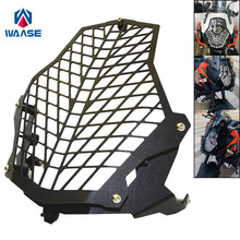 Waase мотоциклетные Фара свет решетка охранник протектор крышки для KTM 1050 1090 1190 Приключения 1290 супер ADV