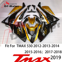 High Quality Tmax530 Fairing Kit Bodywork Bolts for Yamaha Tmax 530 2017 2018 2019 Tmax Fairing ABS Plastic Injection Gold