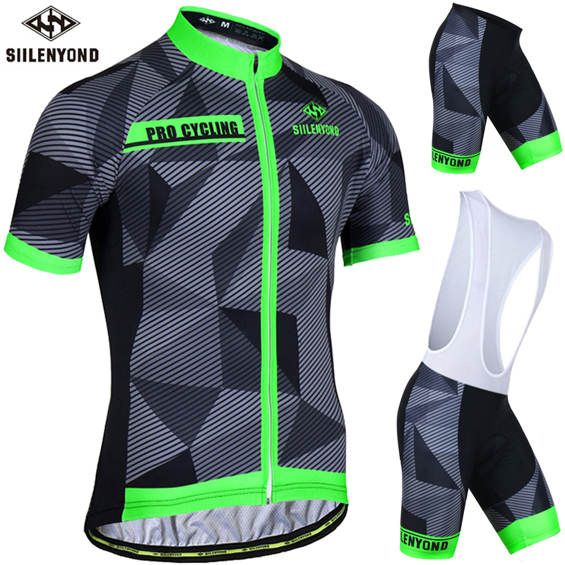 109868c78 Detail Feedback Questions about Siilenyond Flour Green Summer Cycling Jersey  Set Cycling Clothing Suit Short Sleeve MTB Bicycle Clothes Mountain Bike ...
