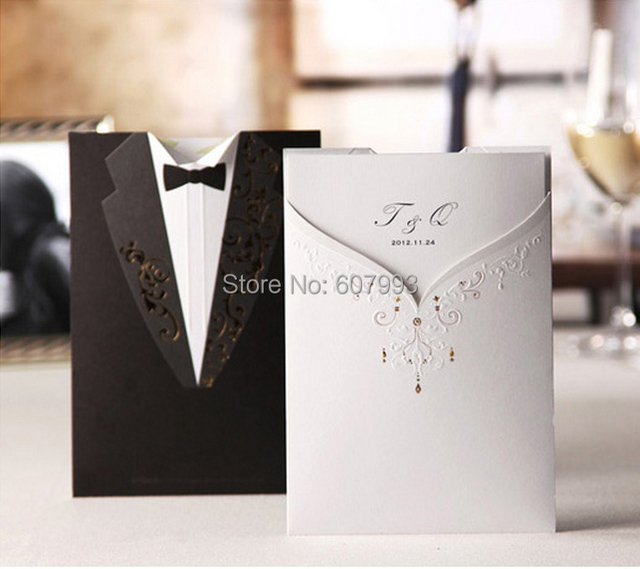 Personalised Wedding Gifts Express Delivery : ... and groom wedding invitations party Kits,100pcs,Express Free shipping