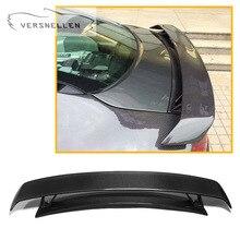 Rear Spoiler for Audi TT TTRS carbon Fiber Car Wing Lip Original car three-piece Carbon Fiber Rear Trunk Spoiler wing