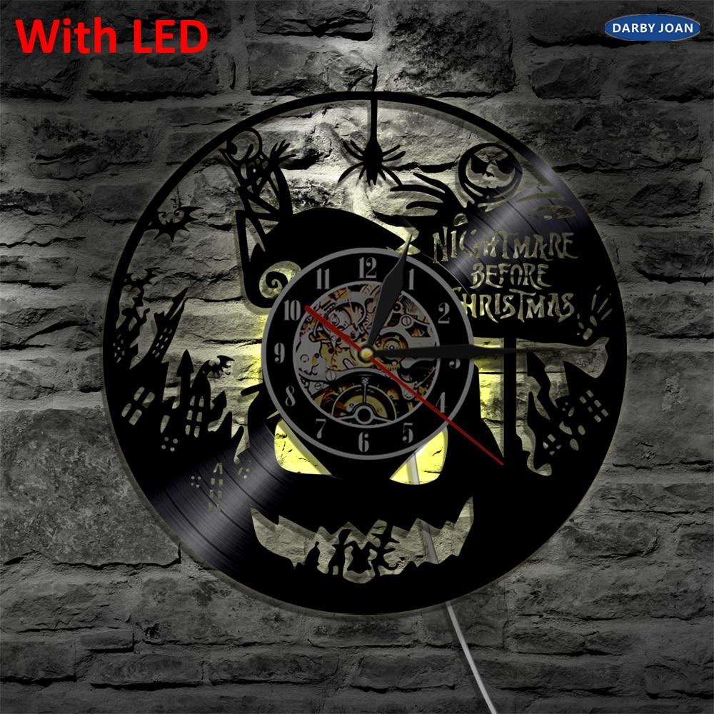 Nightmare Before Christmas Silhouette LED Backlight Modern Light ...