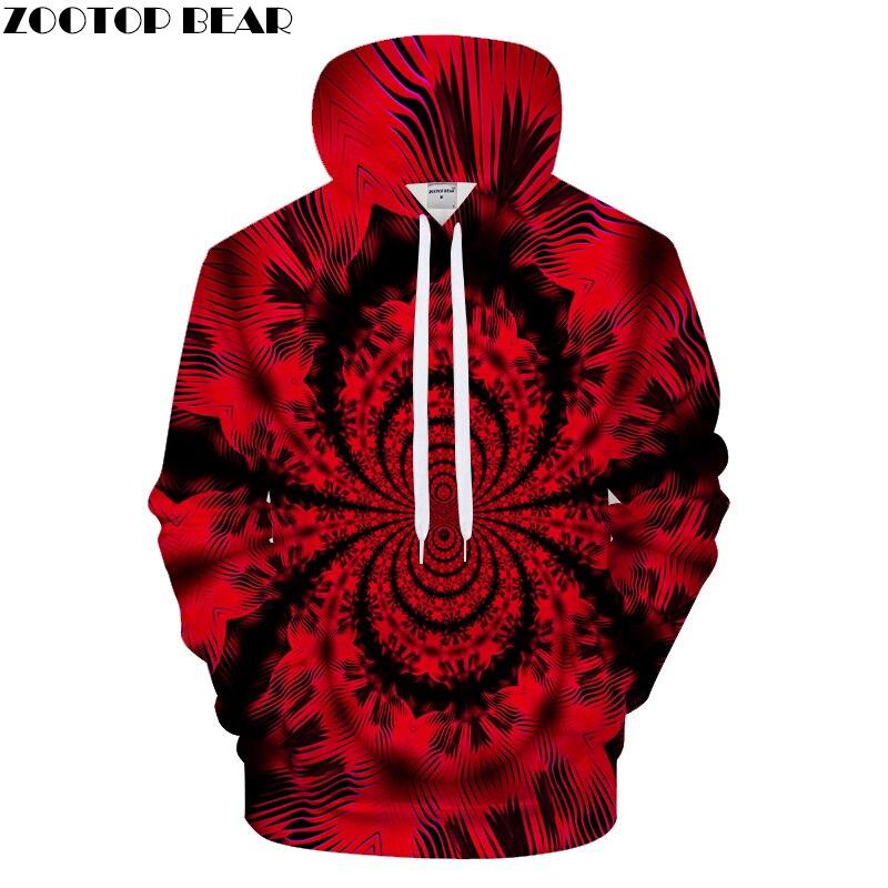 Red 3D Butterfly Hoodie Men Hoodies Print Hoody Streatwear Tracksuit Funny Sweatshirts 6XL Pullover Coat New Dropship ZOOTOPBEAR