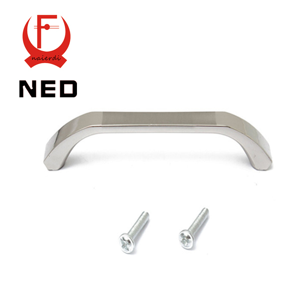 NED Brand 64mm Hole Distance Classical Home Cabinet Door Handles Zinc Alloy Handle Drawer Wardrobe Pull Handle Knobs With Screws furniture drawer handles wardrobe door handle and knobs cabinet kitchen hardware pull gold silver long hole spacing c c 96 224mm