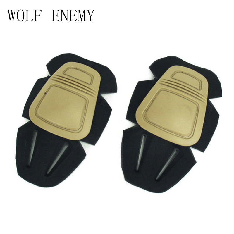 Tactical Combat Protective Pad Set Gear Sports Military Knee Gear Elbow Protector Elbow & Knee Pads Hunting Accessories