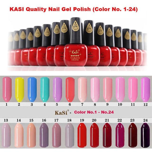 Nail Gel: KASI Top Quality Gel Nail Polish, 15ml 1 bottle price, eco ...