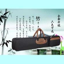 75cm Professional portable bamboo chinese dizi flute bag case design for concert  cover backpack with adjustable shoulder strap