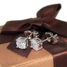 6Pair Lot Sale Cristal Gold Stud Earrings Oorbellen for Women Boucles D