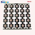 25pcs/lot 3w full spectrum led grow chip with PCB star , led grow lights ,broad spectrum 400nm-840nm led diode for indoor plant