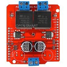 30A High Current Dual Motor Driver Shield Module Full-bridge Driver for Arduino