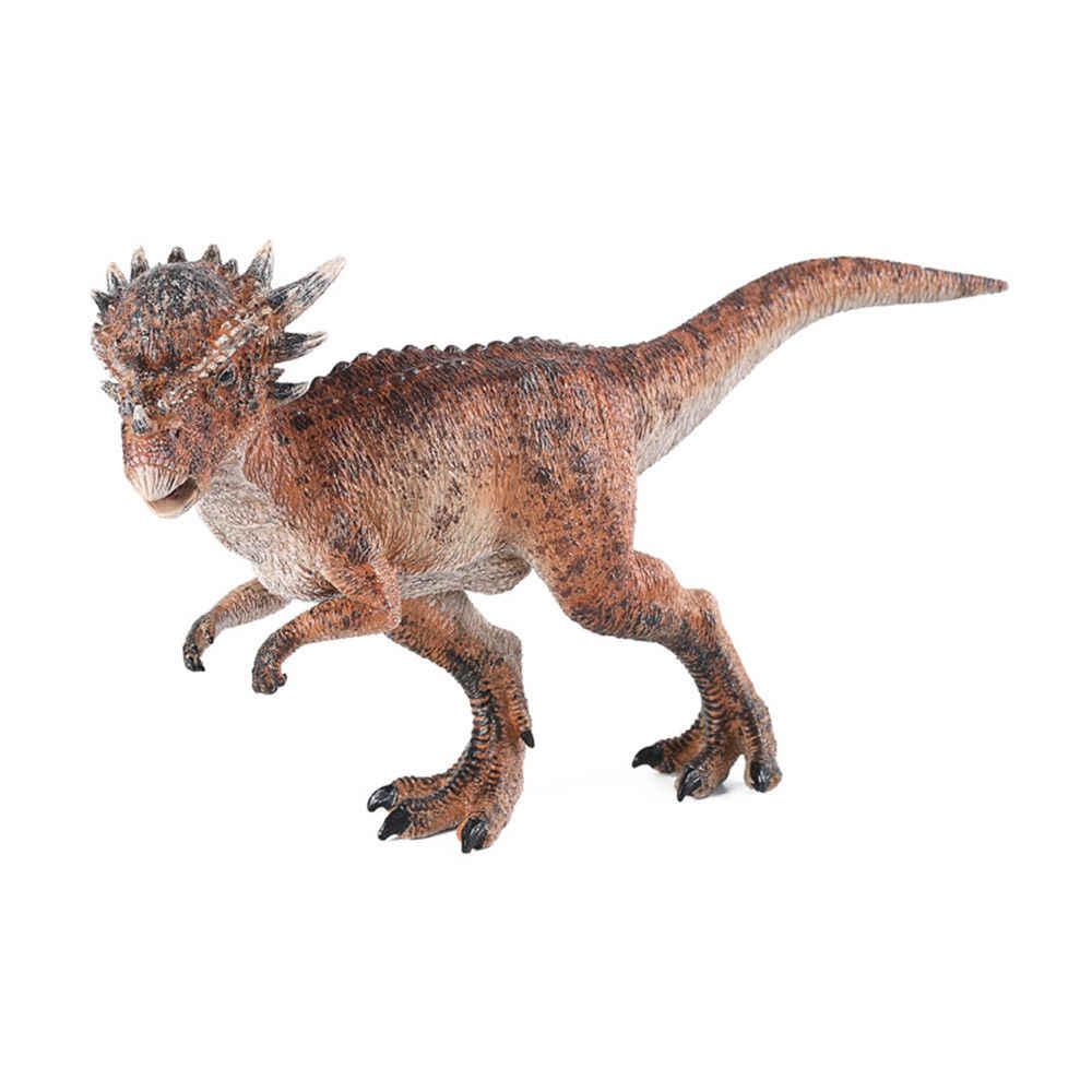 Dinosaur Christmas.Stygimoloch Pachycephalosaurus Figure Dinosaur Model Toy Collector Decor Gift Christmas