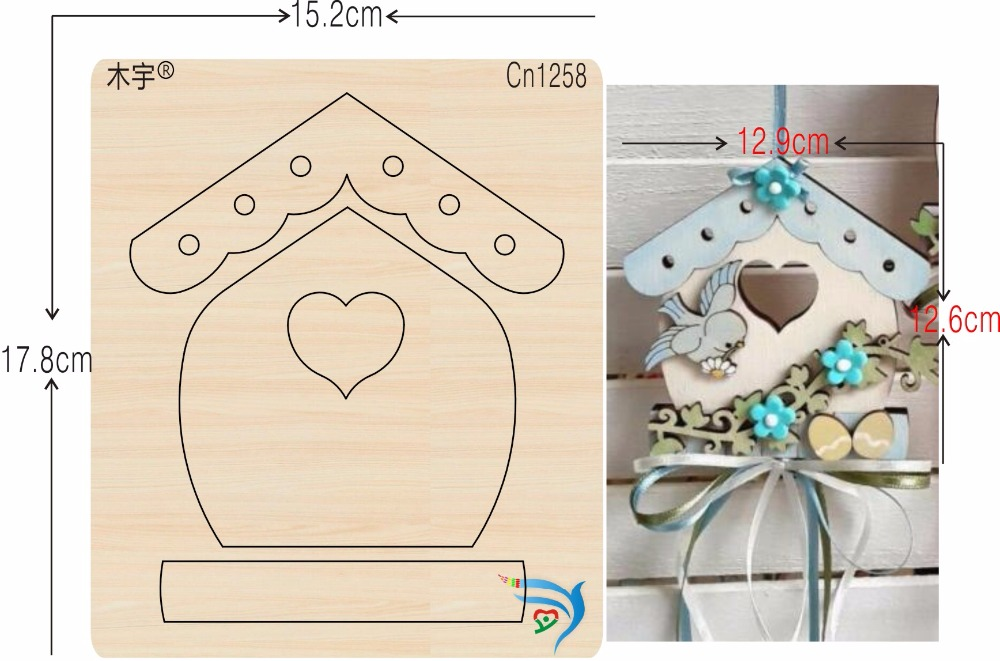 House decorations new wooden mould cutting dies for scrapbooking Thickness 15 8mm
