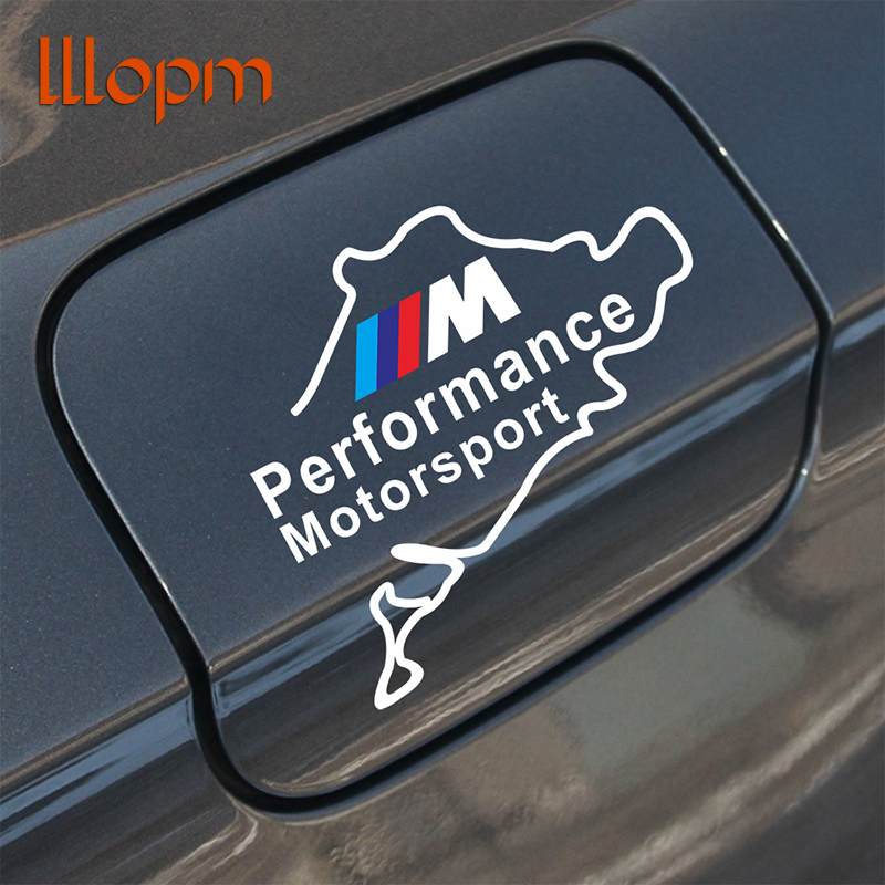 1Pcs Car Fuel Cap Mline M Power Series Logo Emblem Badge Chrome Sticker for BMW E46 E30 E34 E36 E39 E53 E60 E90 F10 F30 M3 M5 auto chrome camaro letters for 1968 1969 camaro emblem badge sticker