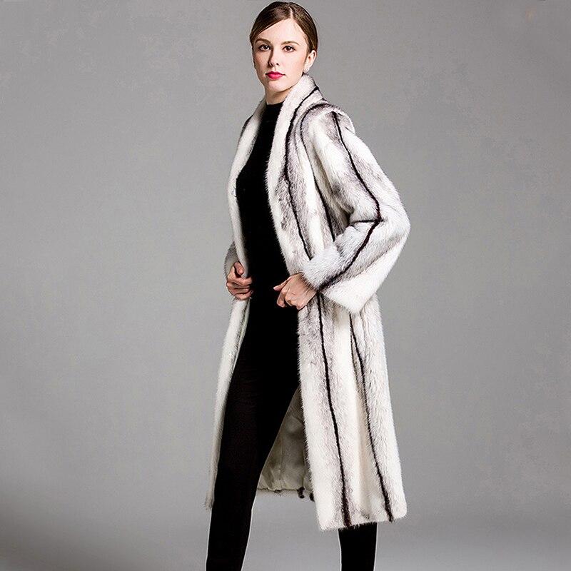 LVCHI mantel bulu nyata untuk wanita mantel bulu alami nyata Rusia - Pakaian Wanita - Foto 2