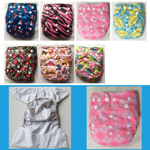 Baby Nappies Diaper-Covers Use-Cloth Printed-Colors Infant Waterproof Reusable Summer