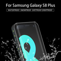 Waterproof Shockproof Dustproof Protective Phone Case With Underwater Full Body Cover For Samsung Galaxy S8 Plus