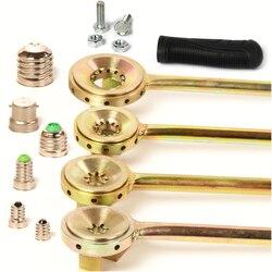 Punzonadora E27 B22 de casquillo de bombilla LED E26 E14, lámpara universal, pinzas lámpara, dispositivo de bloqueo, accesorio de lámpara E40